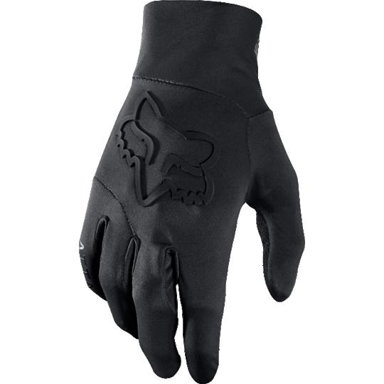 guante fox attack water glove negro talle s