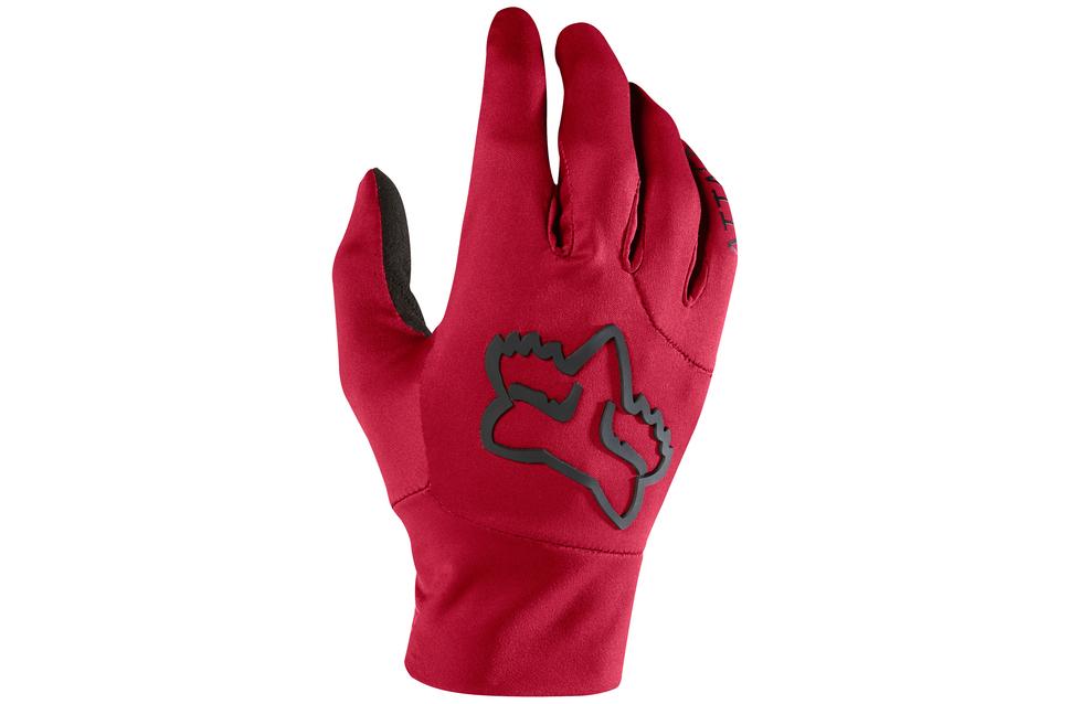 guante fox attack water glove rojo talle s