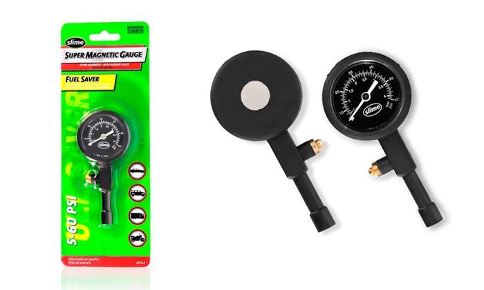 slime medidor de presion aguja de 0/60 psi