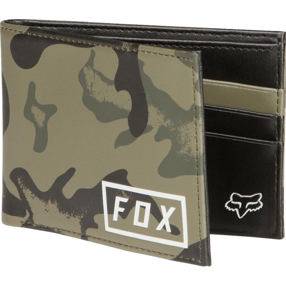 billetera fox camo pinned pu wallet