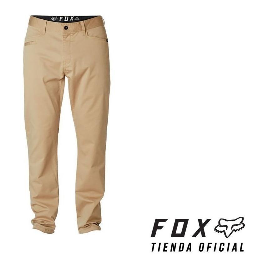 pantalon fox stretch chino beige talle 34