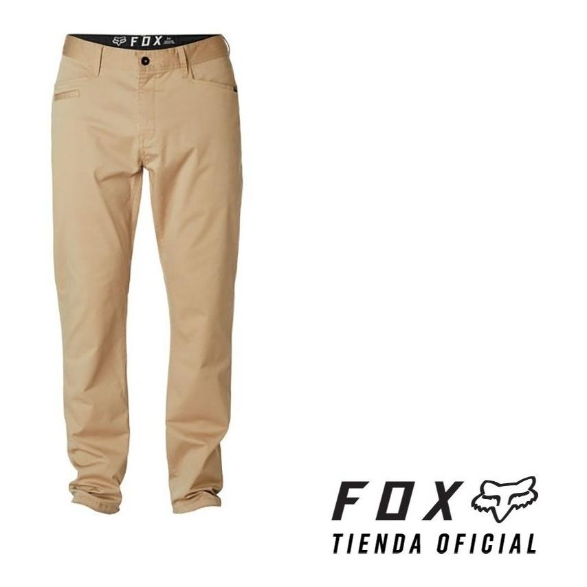 pantalon fox stretch chino beige talle 38