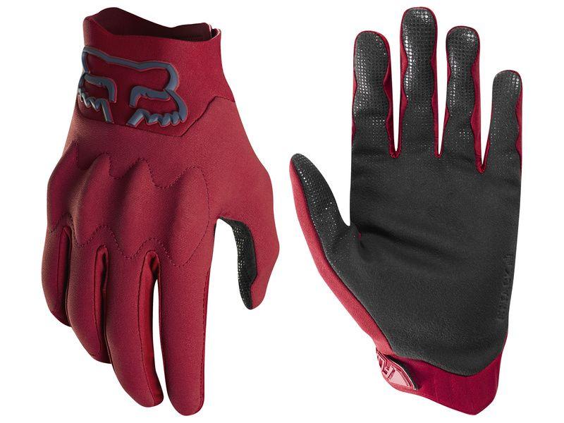 guante fox attack glove rojo talle s
