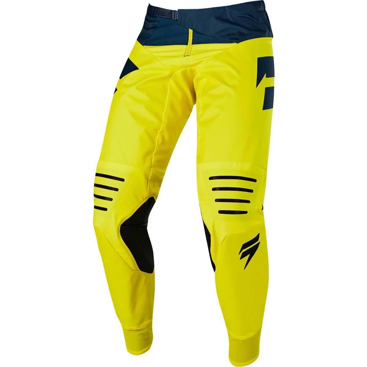 pantalon shift mainline amarillo/azul talle 36