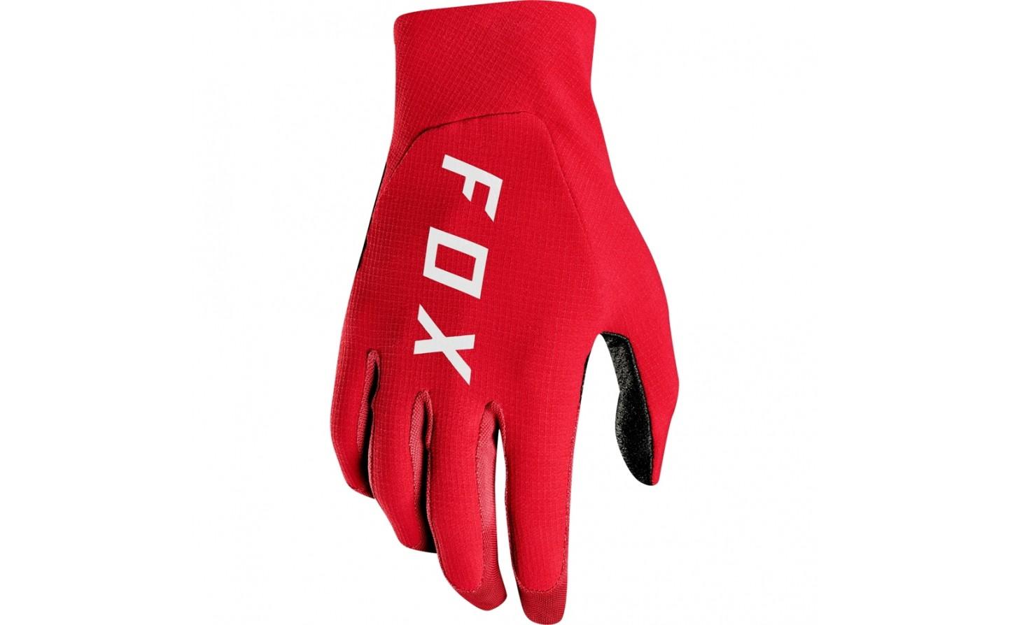 guante fox flexair rojo talle S
