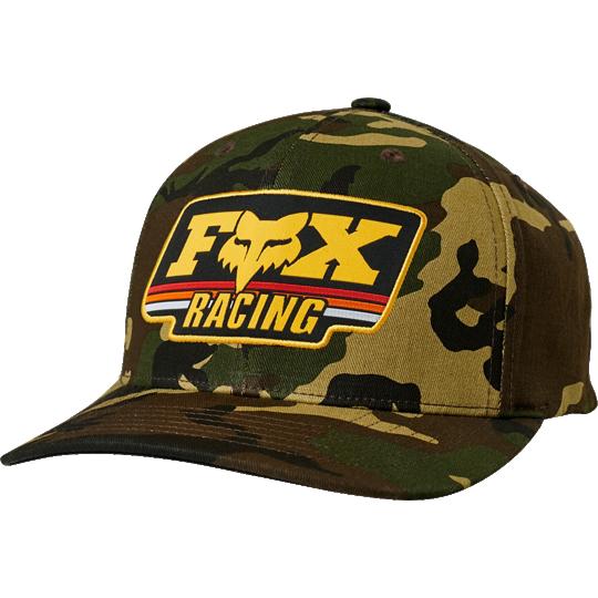 gorra fox thorowback 110 snapback hat camo