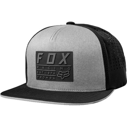 gorra fox redplate tech snapback hat
