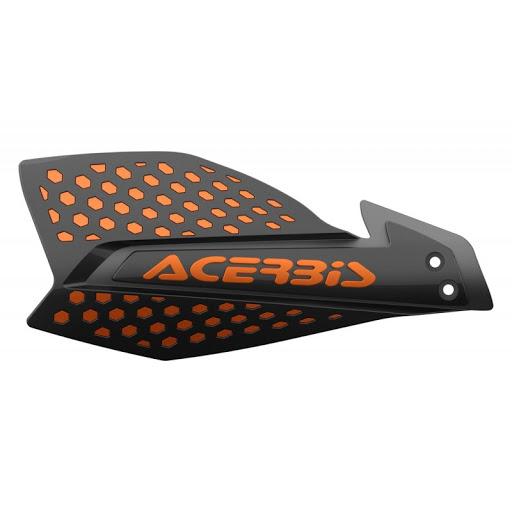 cubre manos x-ultimate acerbis negro/naranja