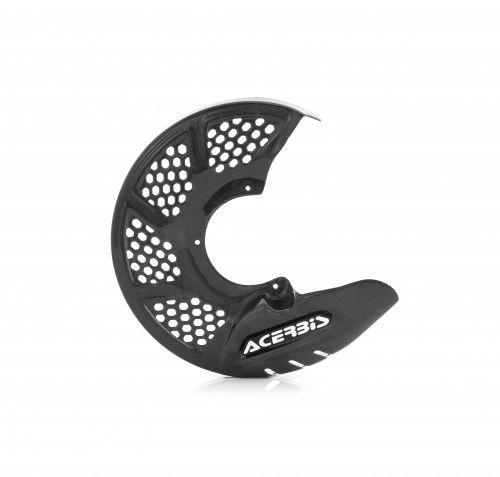 cubre disco delantero acerbis x-brake vented carbono universal