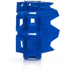protector escape silicona acerbis azul universal