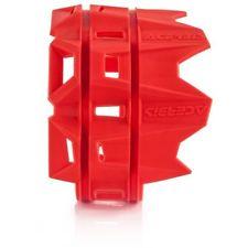protector escape silicona acerbis rojo universal