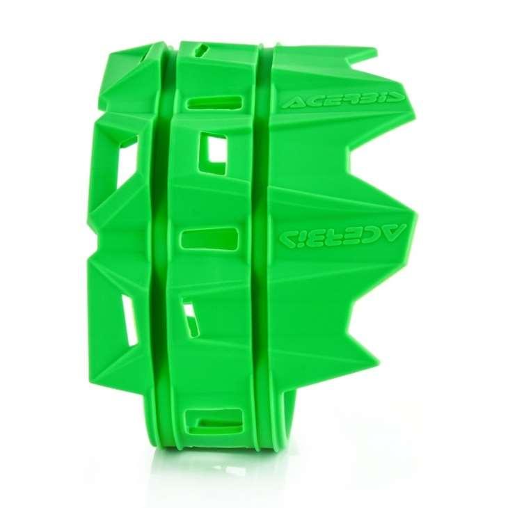 protector escape silicona acerbis verde universal