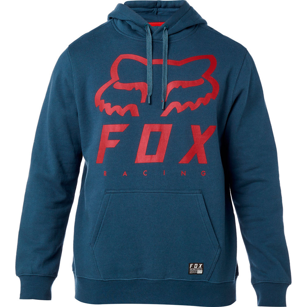 buzo fox heritage forger azul/rojo talle l