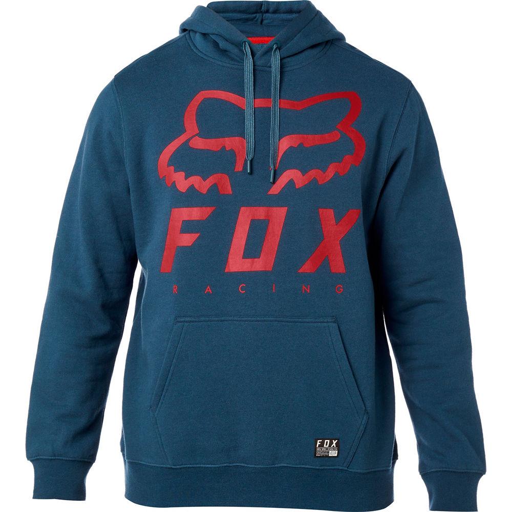 buzo fox heritage forger azul/rojo talle l
