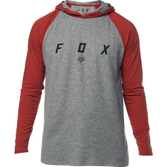 buzo fino fox transcribe ls knit talle L