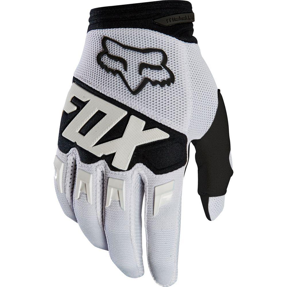 guante ditpaw talle s blanco/negro fox