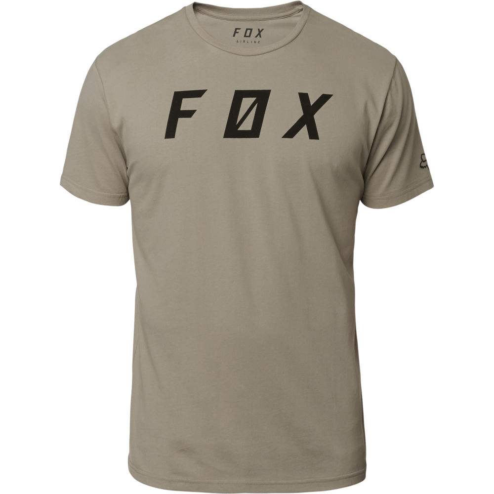 remera casual fox backslash ss airline beige talle s