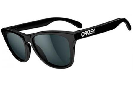 oakley anteojo frogskins polished black w/grey