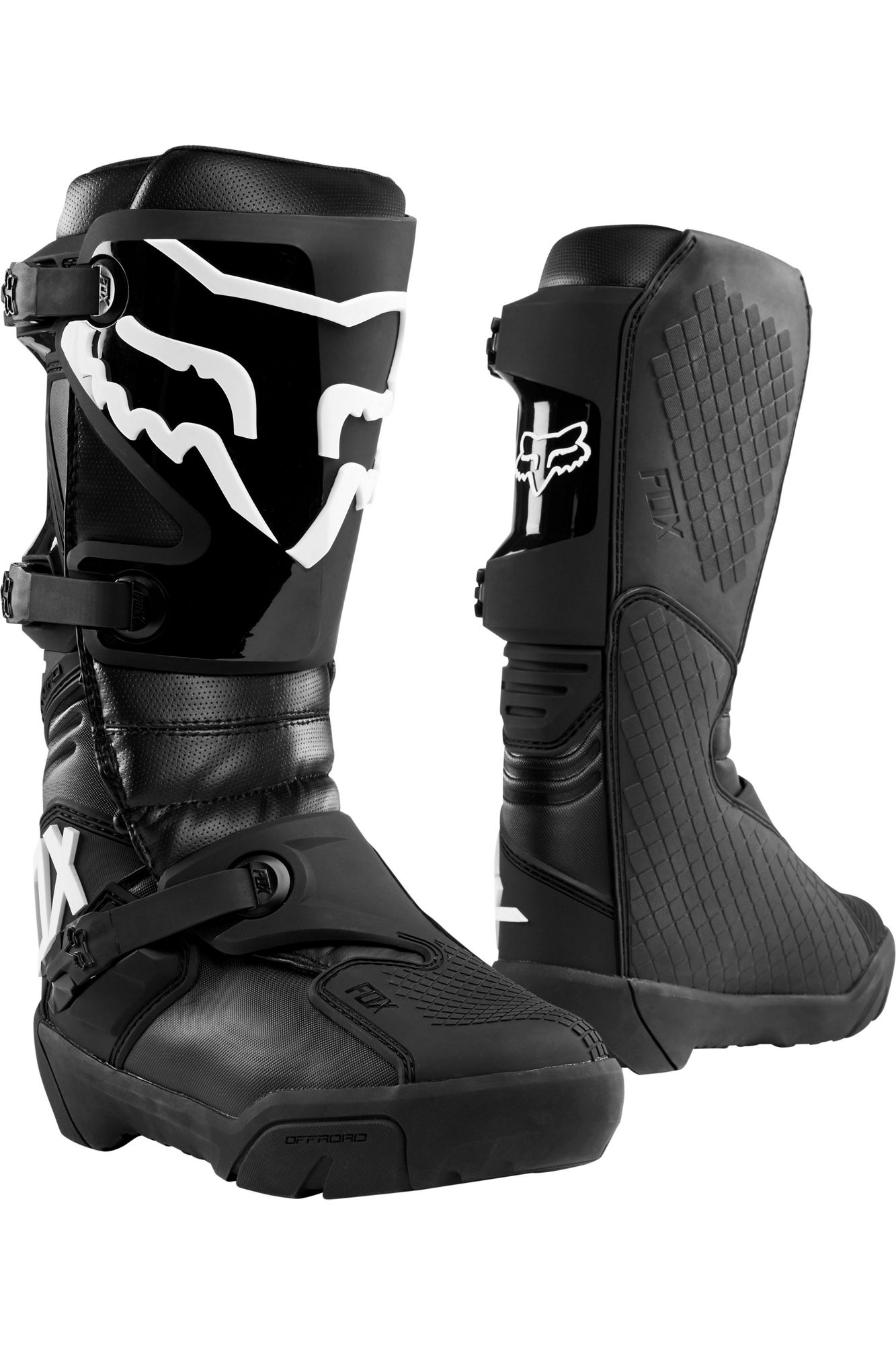 bota fox comp x negro talle 8 usa