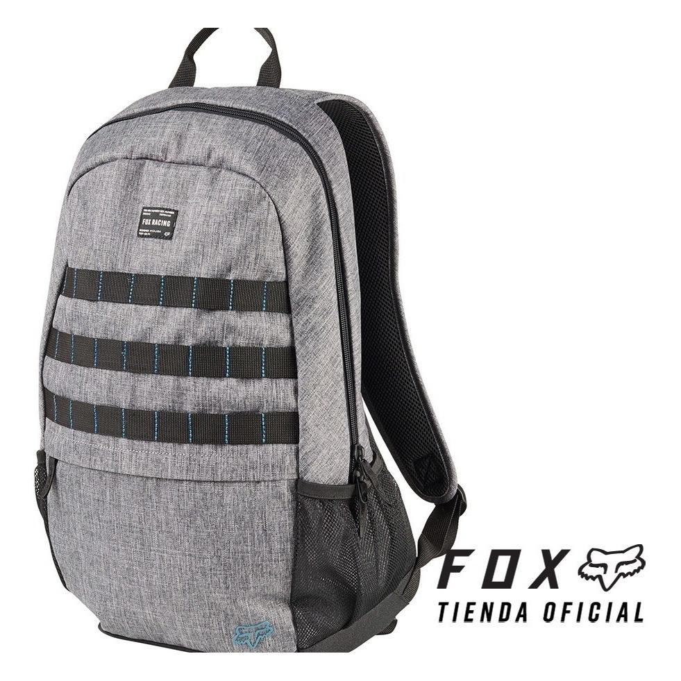mochila fox 180 backpack gris/negro