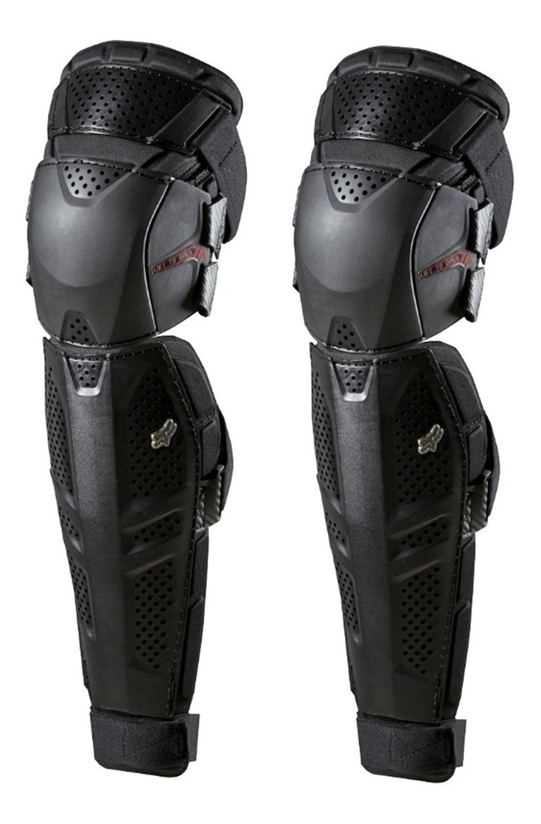 rodillera fox launch knee/shin S/M