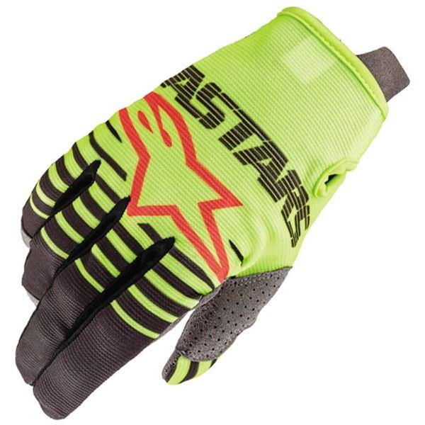 guante alpinestar radar glove fluo/negr talle m