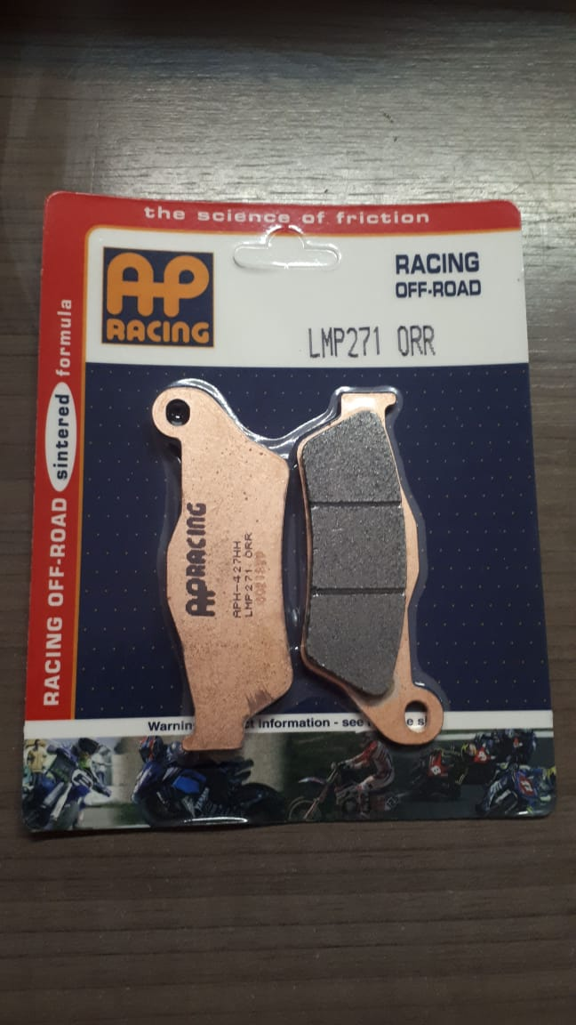pastilla freno AP lmp 271 orr racing delantera