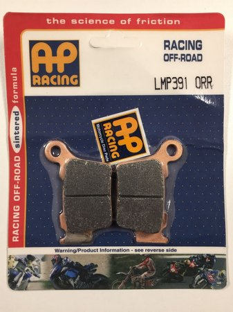 pastilla freno AP lmp 391 orr racing trasera