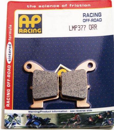 pastilla freno AP lmp 377 orr racing trasera