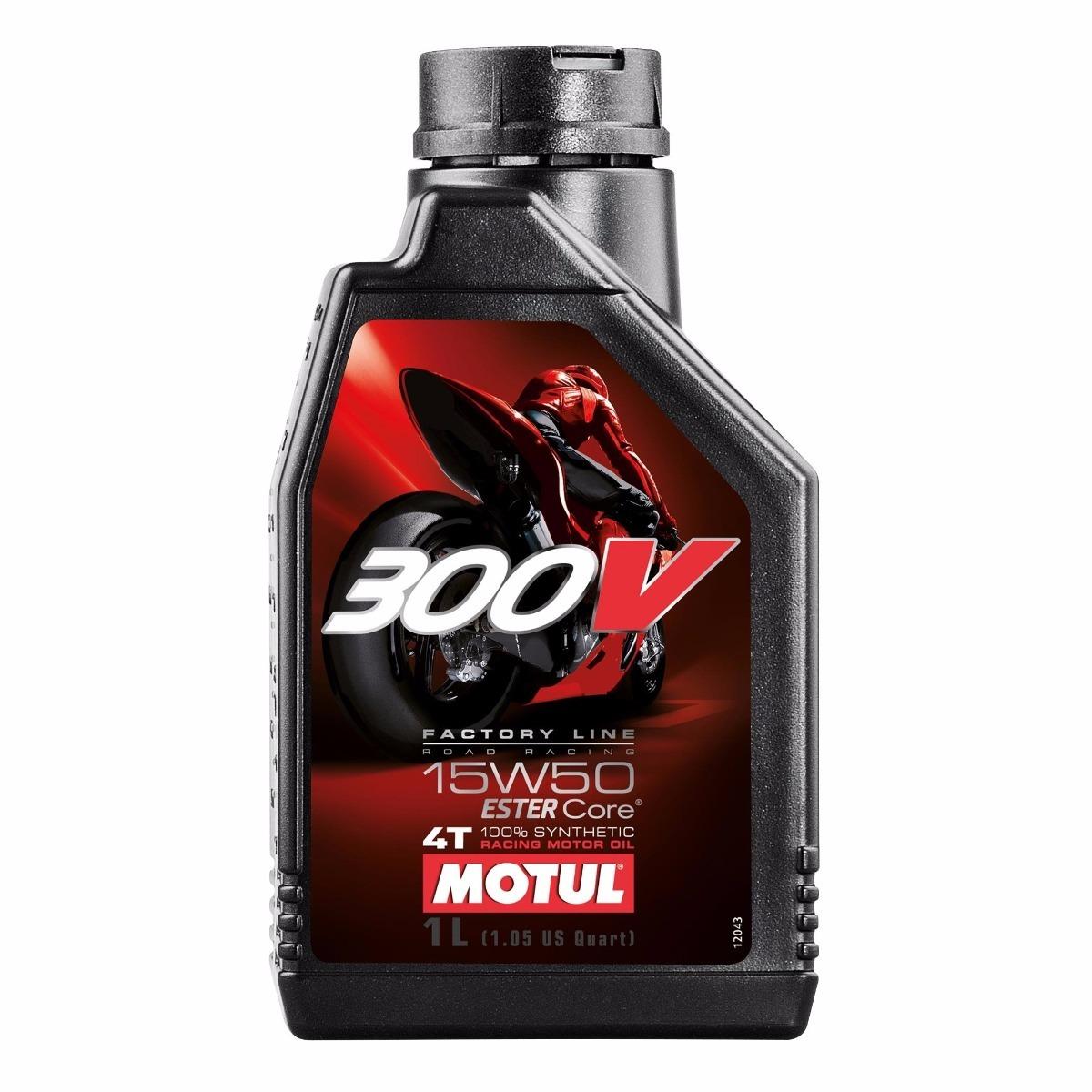 aceite motul 300v 15w50 1L
