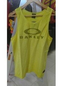 oakley remera casual tank citrus talle m