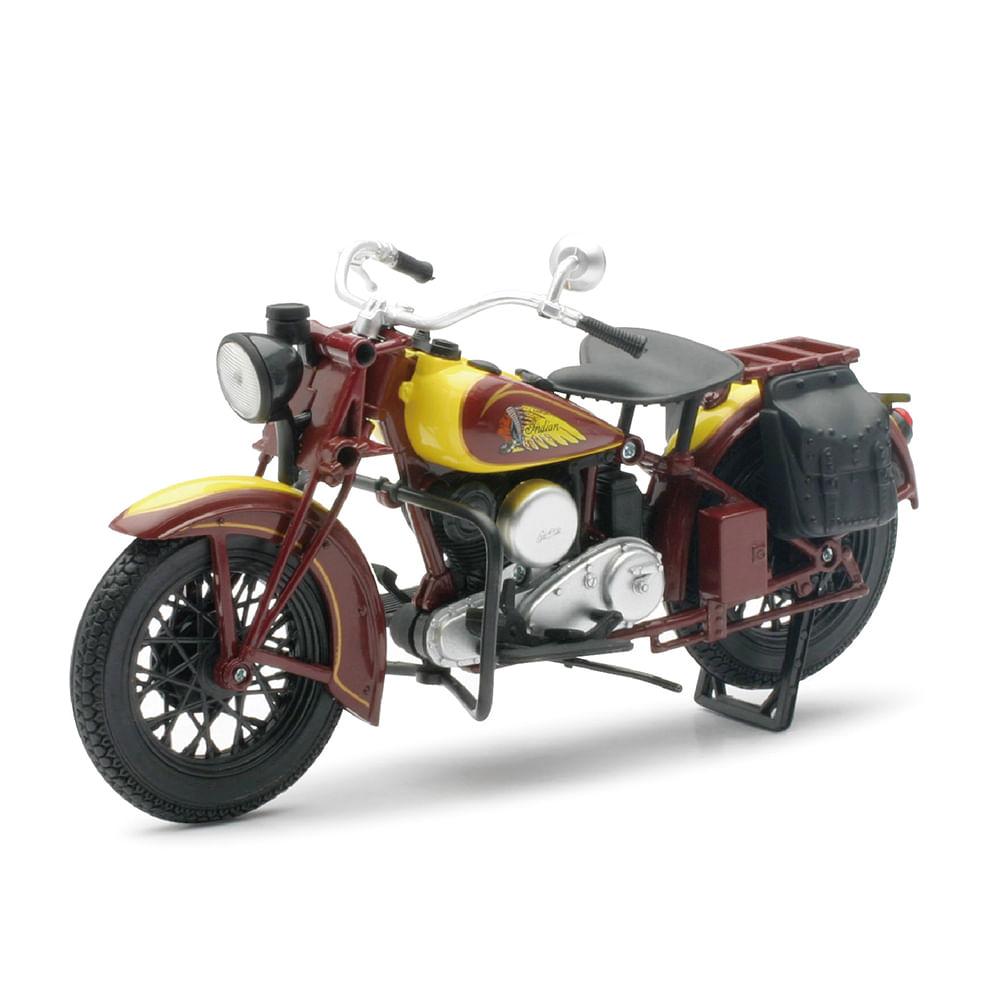 moto juguete indian 1:12