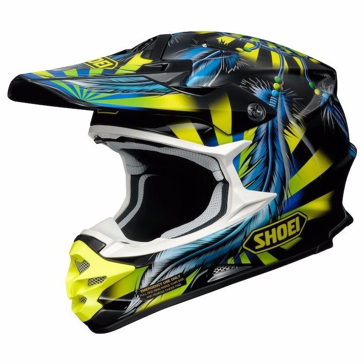 casco shoei vfx-w grant2 tc-3 azul/amarillo XL (61-62cm)