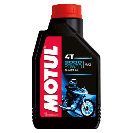 aceite motul 3000 20w50 1 lts