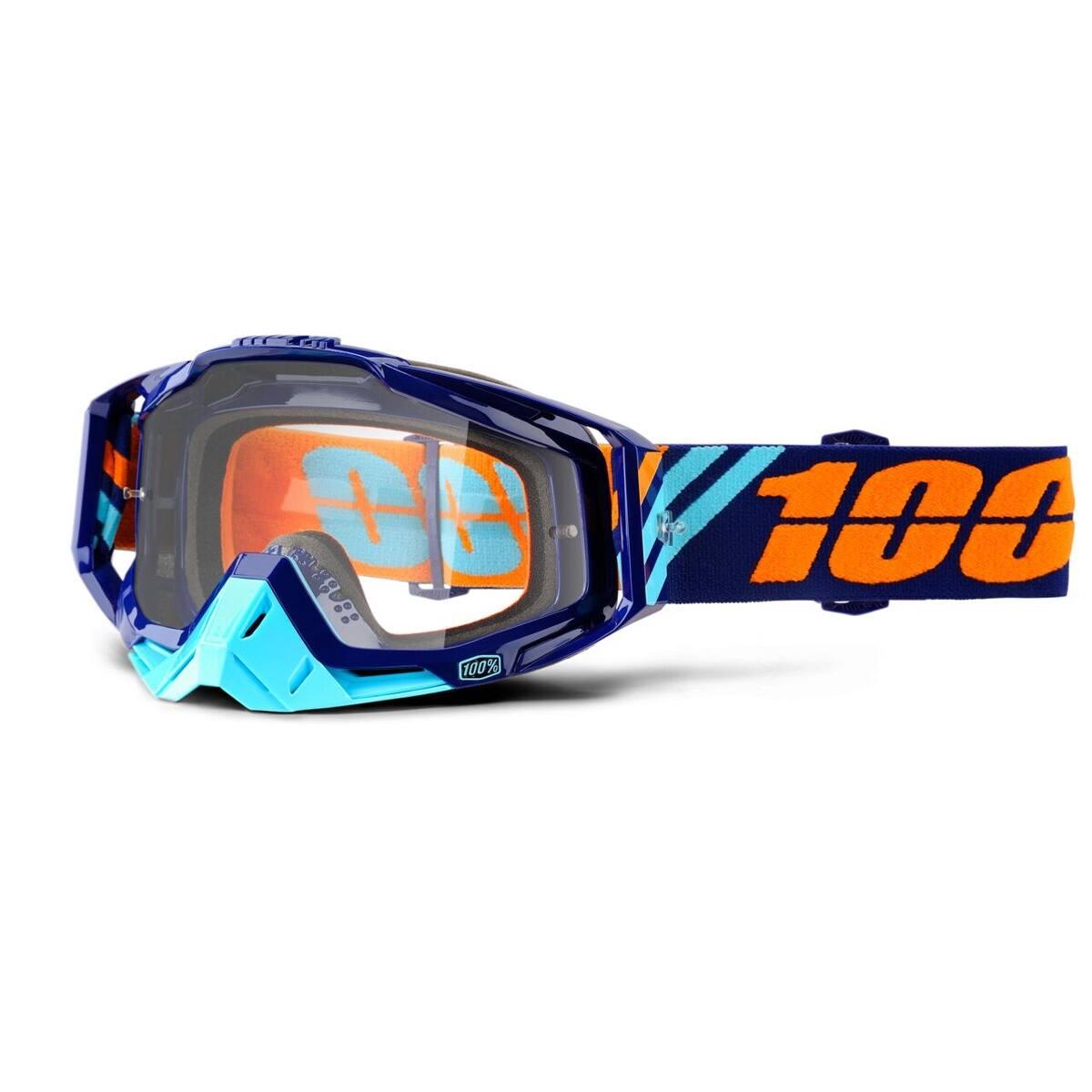 antiparra 100% racecraft azul/celeste