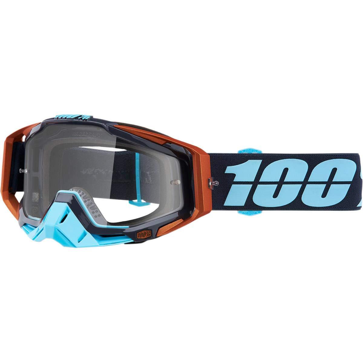antiparra 100% racecraft ergono celeste/marron
