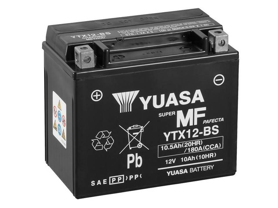 bateria yuasa YTX12 - BS