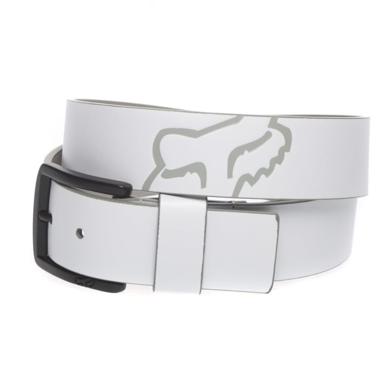 cinto fox core belt blanco talle m