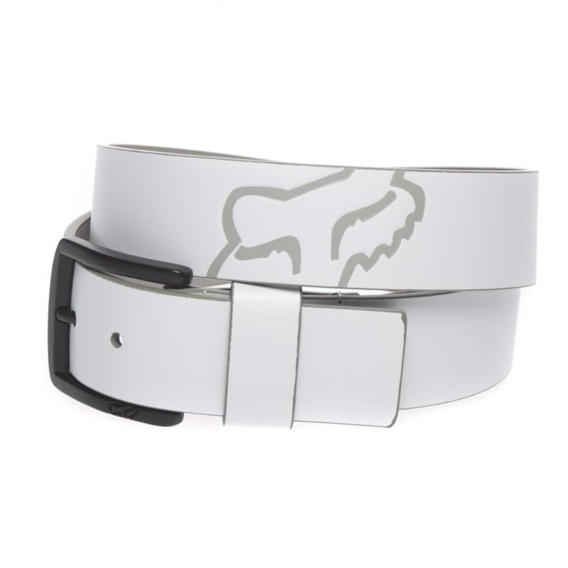 cinto fox core belt blanco talle s