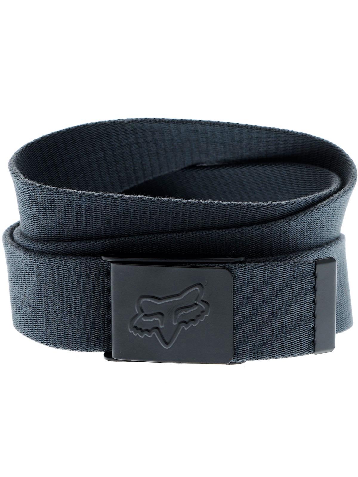 cinto fox mr. clean web belt charcoal