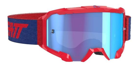 antiparra leatt 4.5 velocity roja/azul
