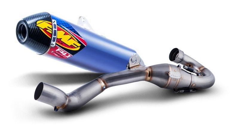 escape fmf honda crf 450 15/16 dual alum/carbono con s/s megabomb