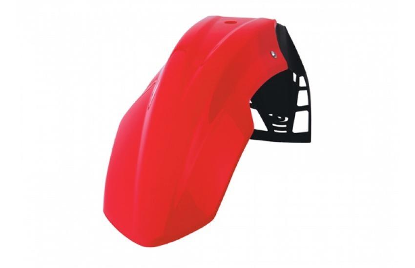 guardabarro delantero free flow rojo polisport universal