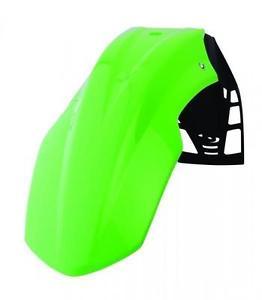 guardabarro delantero free flow verde polisport universal
