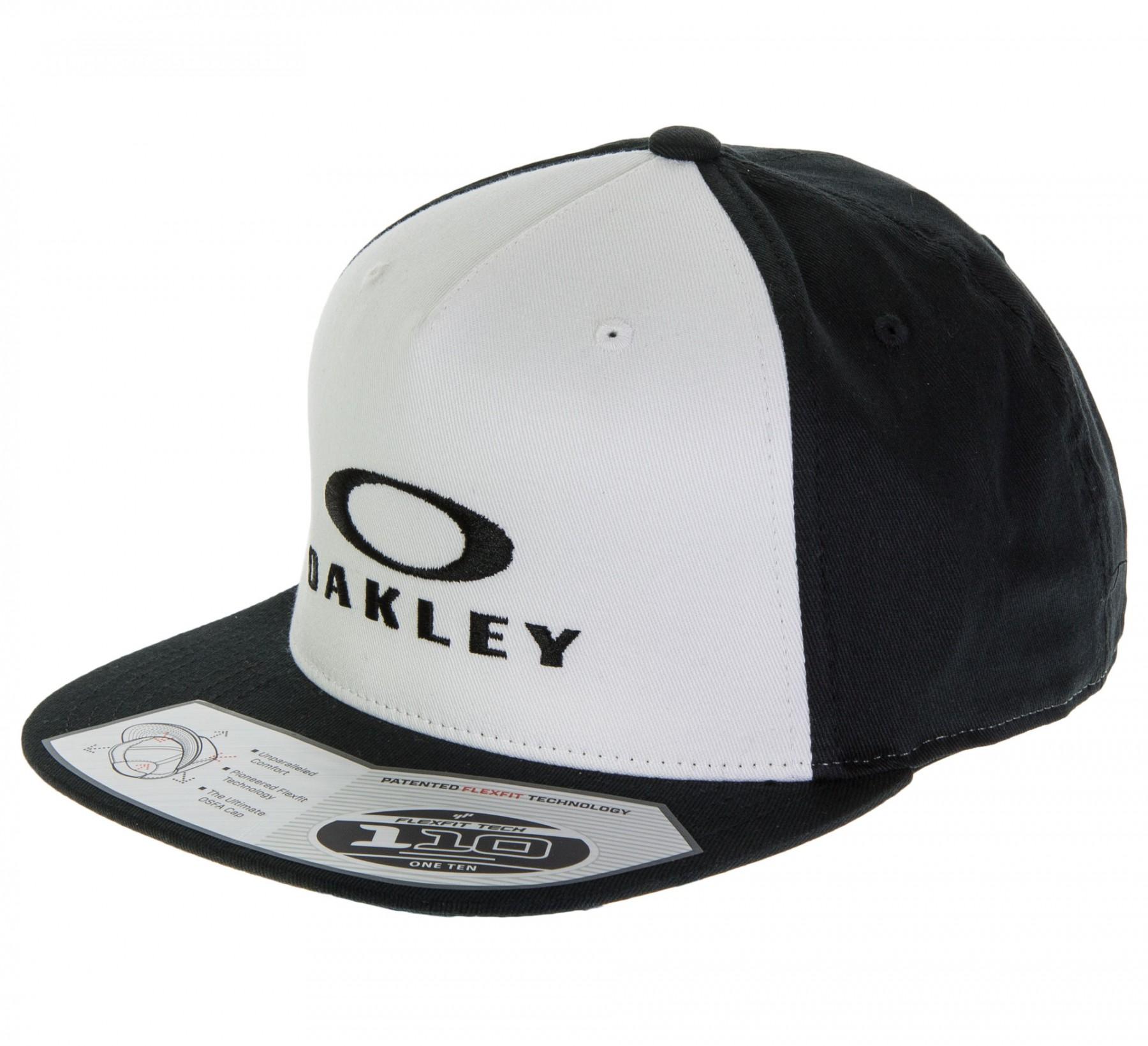gorra oakley sliver 110 flexfit hat white