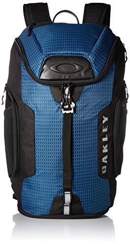 mochila oakley link negro/azul/gris