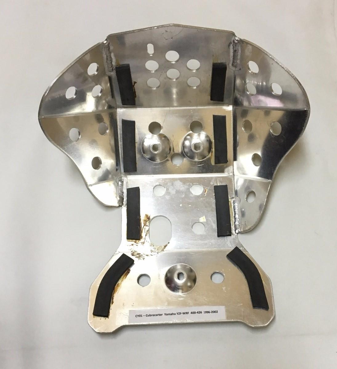 cubre carter Yamaha YZF WRF 400-426 1996-2002 aluminio