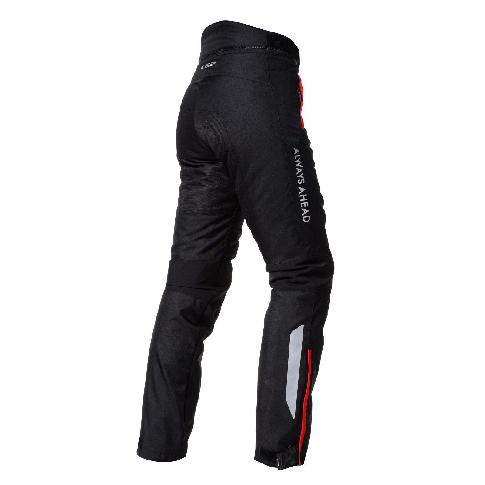 pantalon ls2 chart negro mujer talle m