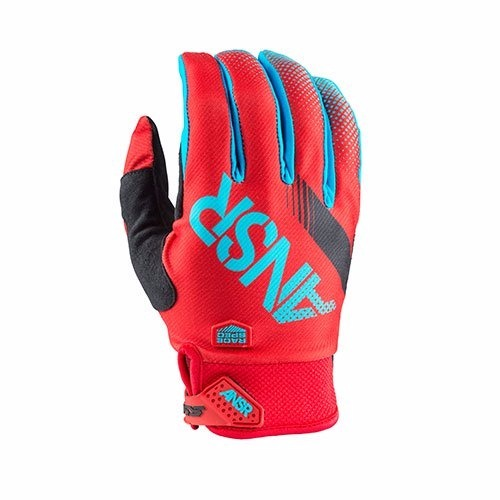 guante answer sync red teal talle m