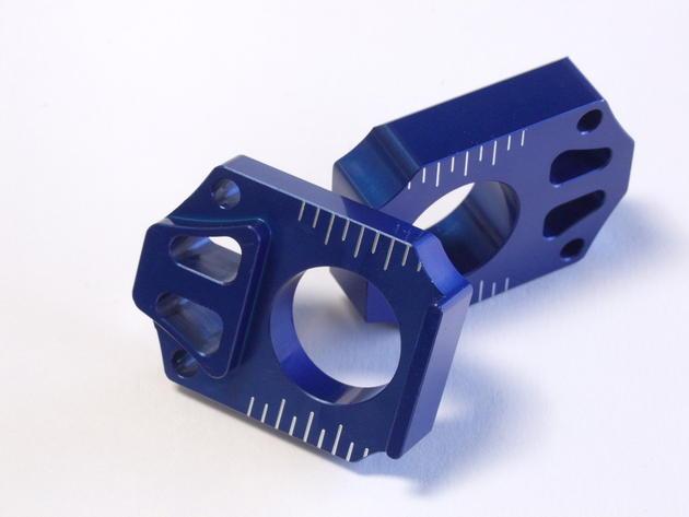 bloque tira cadena akaini yamaha azul
